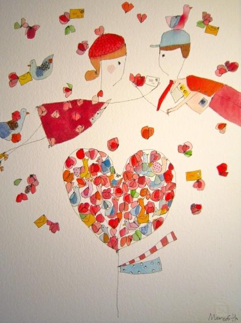 Love letter tree