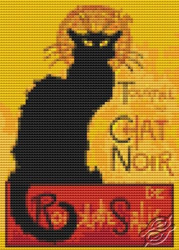 Chat Noir - Cross Stitch PDF Pattern By The Art Of Stitch