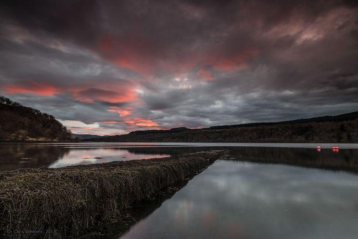Boathouse Sundown by Chris Simmons Photography