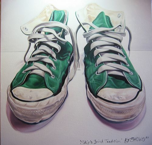 shoes in paintings | photo