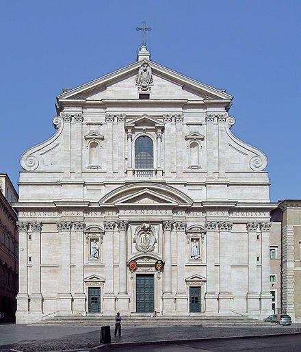 Il Gesù, Giacomo della Porta. Italian renaissance.-First baroque facade *during the renaissance Venice was center of art