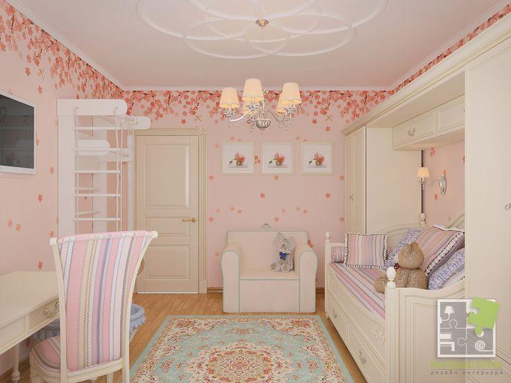 Детская комната для девочки on Behance