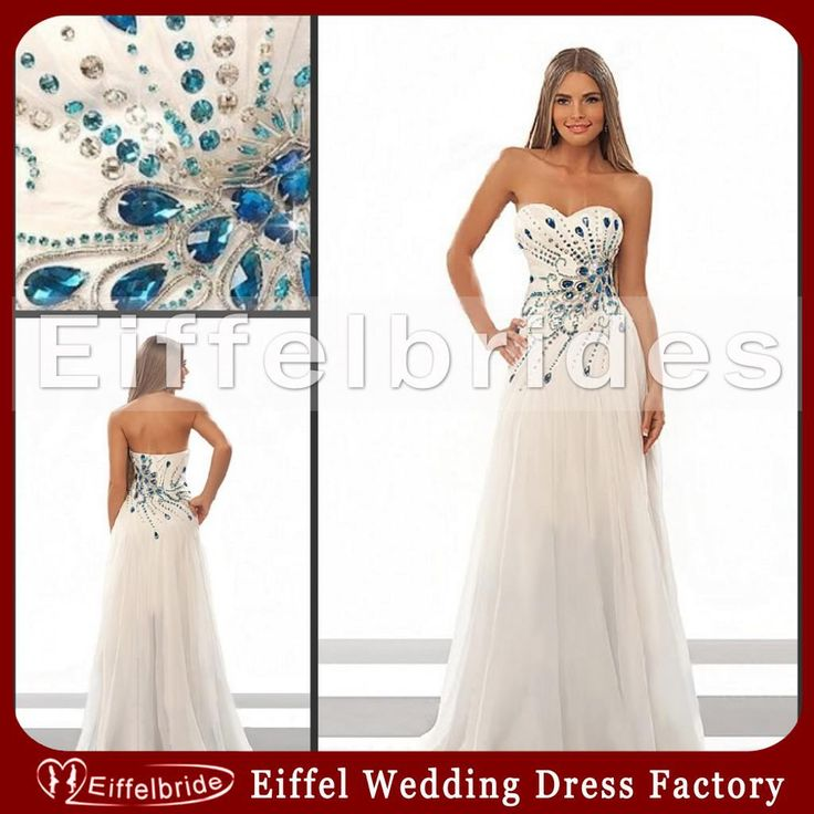 Cheap most shining crystal peacock wedding dresses 2014 for Affordable unique wedding dresses