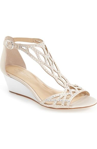 Imagine by Vince Camuto 'Jalen' Wedge Sandal   These are probably my favorite because they have the support, they are a wedge (so comfortable), and they are in a sandal, so pretty