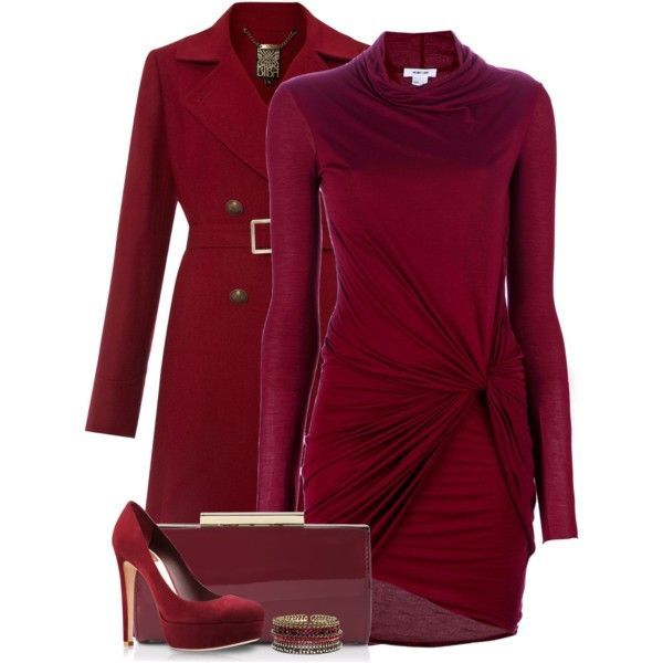 Fall 2014 Trend: Red Hot
