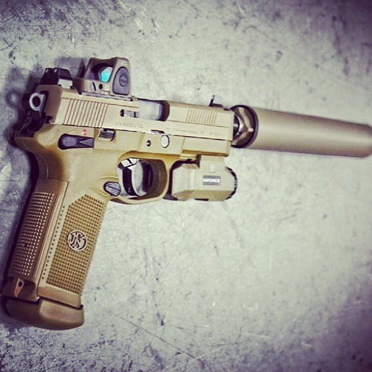 Love this silenced #fnx45tactical #fightthenoise -via @billionaireguns… speedloader now! http://www.amazon.com/shops/raeind