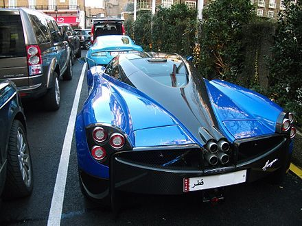 "The Pagani Huayra (pronounced: wai-rah) is an Italian mid-engined sports car produced by Pagani. Succeeding the company's previous offering, the Zonda, it will cost £849,000[1]($1,300,000). It is named after Huayra-tata, which means ""God of the winds"" in Quechua, the official language of the Inca Empire.["
