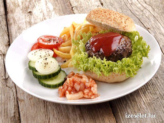 Hamburger - Receptek | Ízes Élet - Gasztronómia a mindennapokra