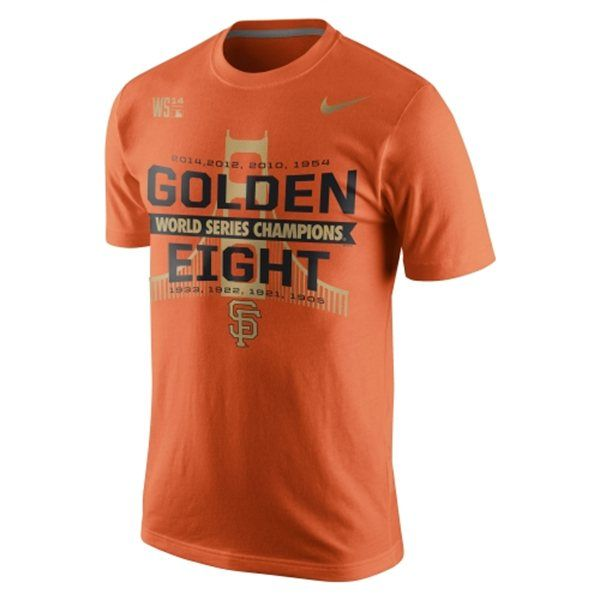 I got this World Series Champions Tee Shirt today at San Francisco Giants Dugout store at Stanford Shopping Center..