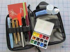 Sketching Kit by MagaMerlina, via Flickr