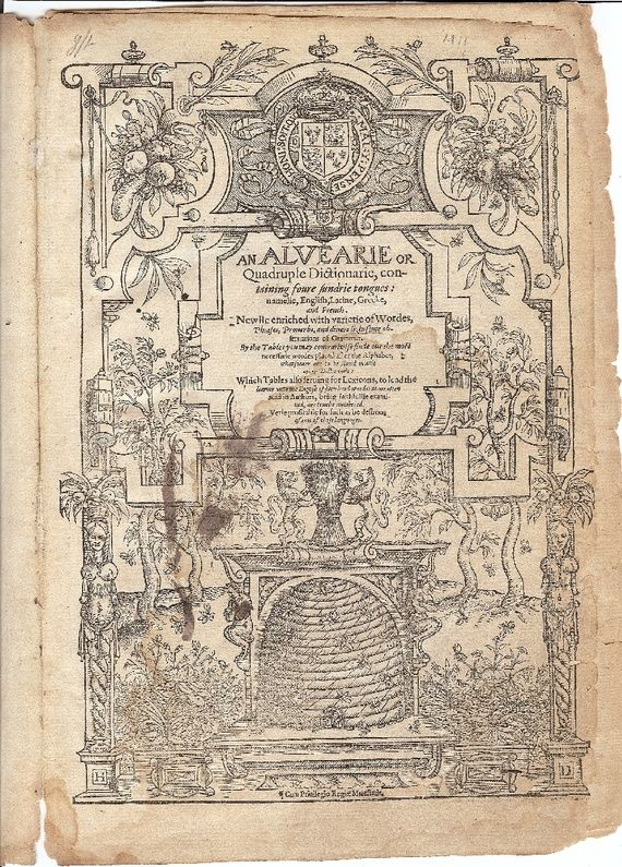 Booksellers: We Got Shakespeare's Personal Dictionary on eBay - Robinson Meyer - The Atlantic