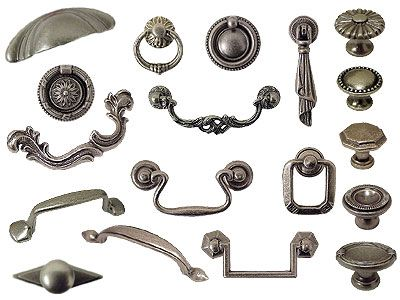 The Bosetti Marella Cabinet Hardware Old Iron Collection Drawer Pulls