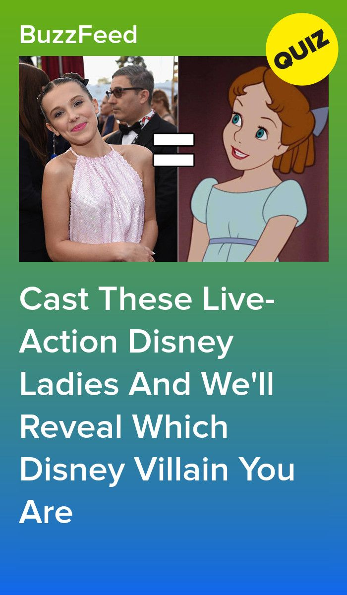 Cast These Live Action Disney Ladies And We Ll Reveal Which Disney