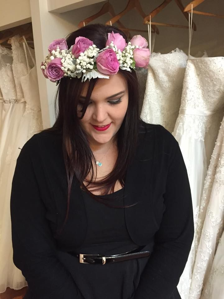 Vintage Floral Headpiece Grande Moments Wedding Flowers www.grandemoments.com.au