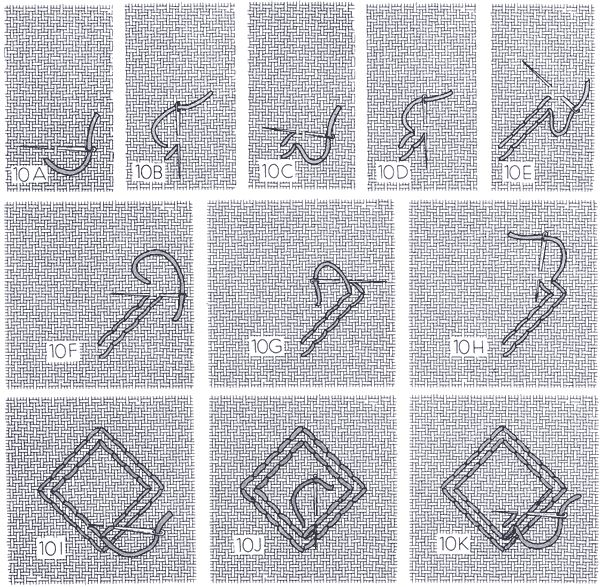 Cable Stitch : Hardanger - (nordicneedle.net)