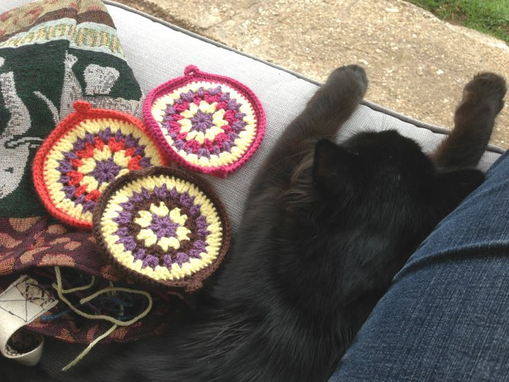 Kale finds crochet exhausting