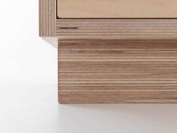 Chest of Drawers - - Made from Baltic Birch Plywood - Manufactured by Bee9, based in Yorkshire - Customise the size by requesting a custom order - Soft close concealed drawer runners Dimensions: Standard (3 Drawers): W 600 x D 400 x H 740 mm Wide (3 Drawers): W 800 x D 400 x H