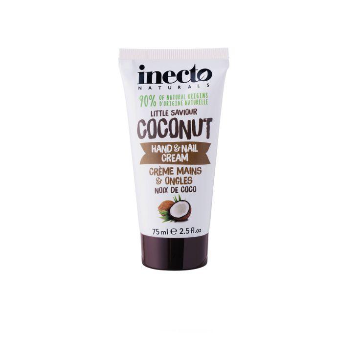 Inecto Naturals Hand Cream 100 % ekologisk kokosolja. Veganvänlig! Köp hos Ecoliving.se