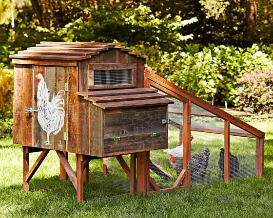 Image detail for -Williams-Sonoma brings to mind beautiful china, gourmet kitchen tools and pricey pots and pans. Chicken coops? Not so much. But handmade hen houses are part of a new ...