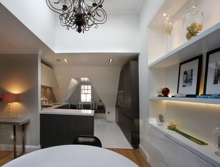Modern Kitchen in South Kensington, London | Elan Kitchens, 55 New Kings Road, London, SW6 4SE  | www.elankitchens.co.uk