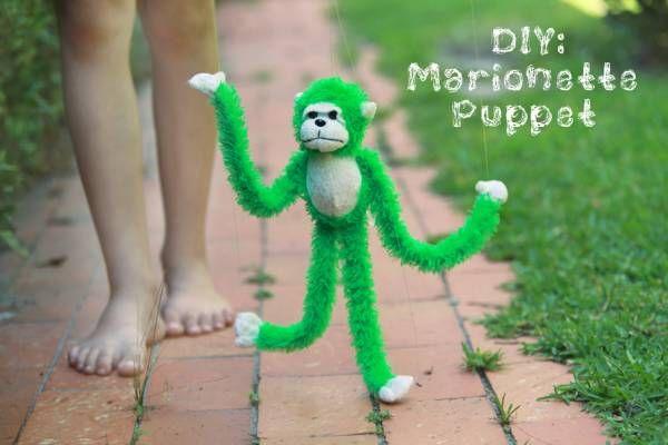 Transformer une peluche en marionette