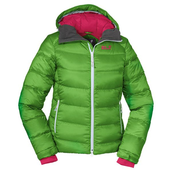 Bijzonder warm, winddicht, waterafstotend donsjack met veel uitrustingsdetails. - Donsjacks - Alle jacks - Dames - Kleding - Jack Wolfskin N...