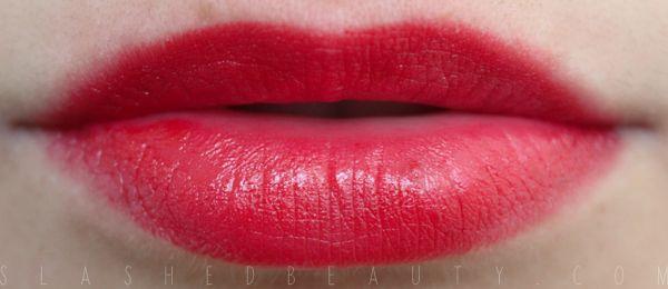 Great Red Lippies: Jordana Lipstick in Red Volt