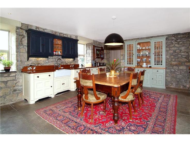Irish kitchen homes rustic irish cottages pinterest for Irish kitchen designs