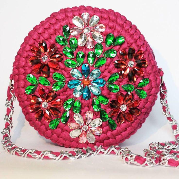 Трикотажная сумочка Alba по мотивам #DG