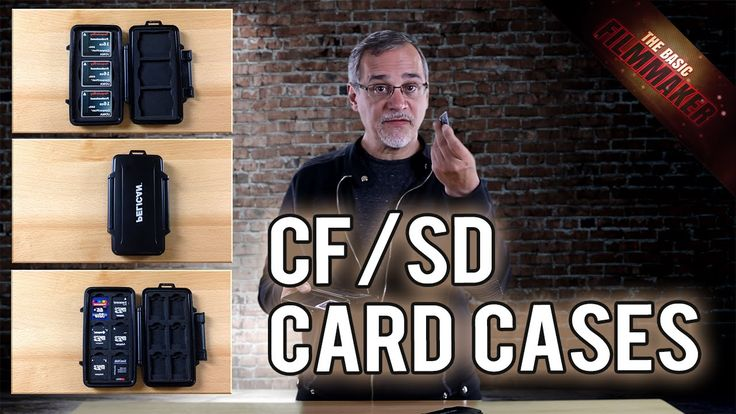 CF / SD Card Cases - Basic Filmmaker Ep 136. If you need to protect or keep track of CF & SD cards, these waterproof cases will really help. http://bit.ly/PelicanCFCardCaseAmazon http://bit.ly/PelicanSDCardCaseAmazon #filmmaking #cards #storage #pelican