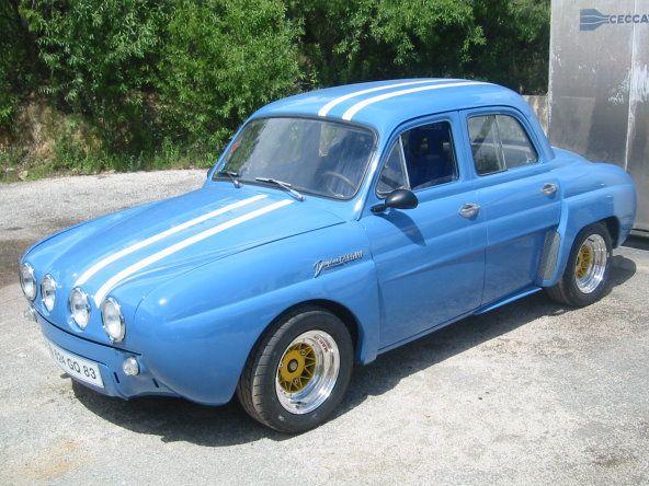 Kits de fibra Renault Dauphine