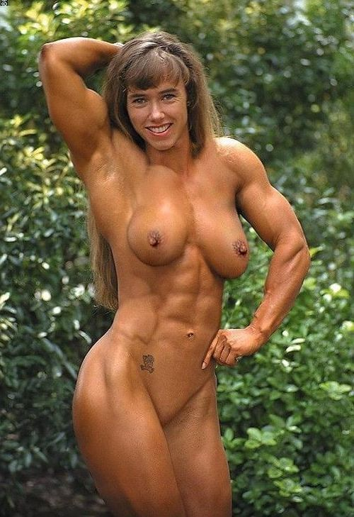 Porn muscle woman