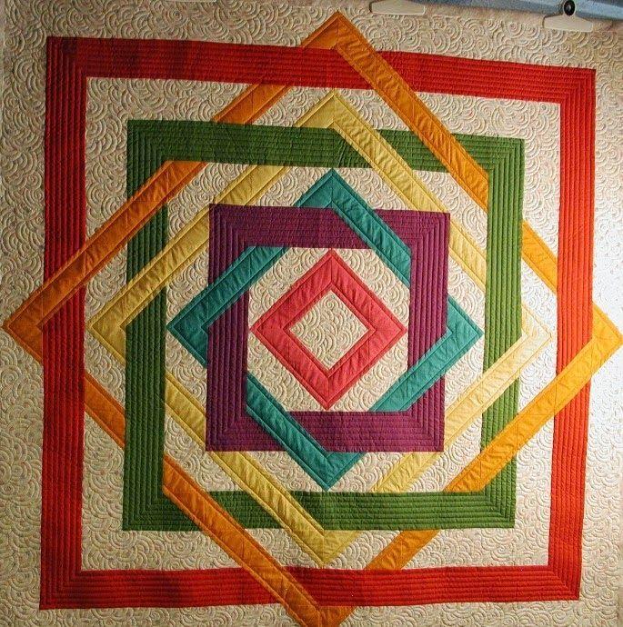 Labyrinth Walk Quilt Pattern Tutorial