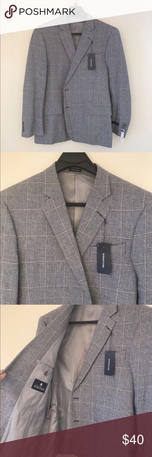 Men's Stafford Sport Coat Men's Stafford sports coat. Signature design in classic fit. stafford Suits & Blazers Sport Coats & Blazers