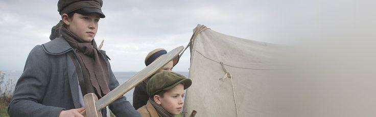 kleine handen in een grote oorlog. Serie over de eerste wereldoorlog voor kinderen