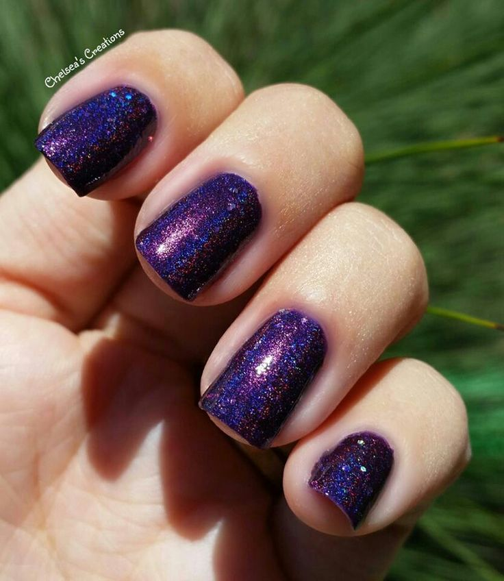 Nail Stamping Queen ~ Purple-exing