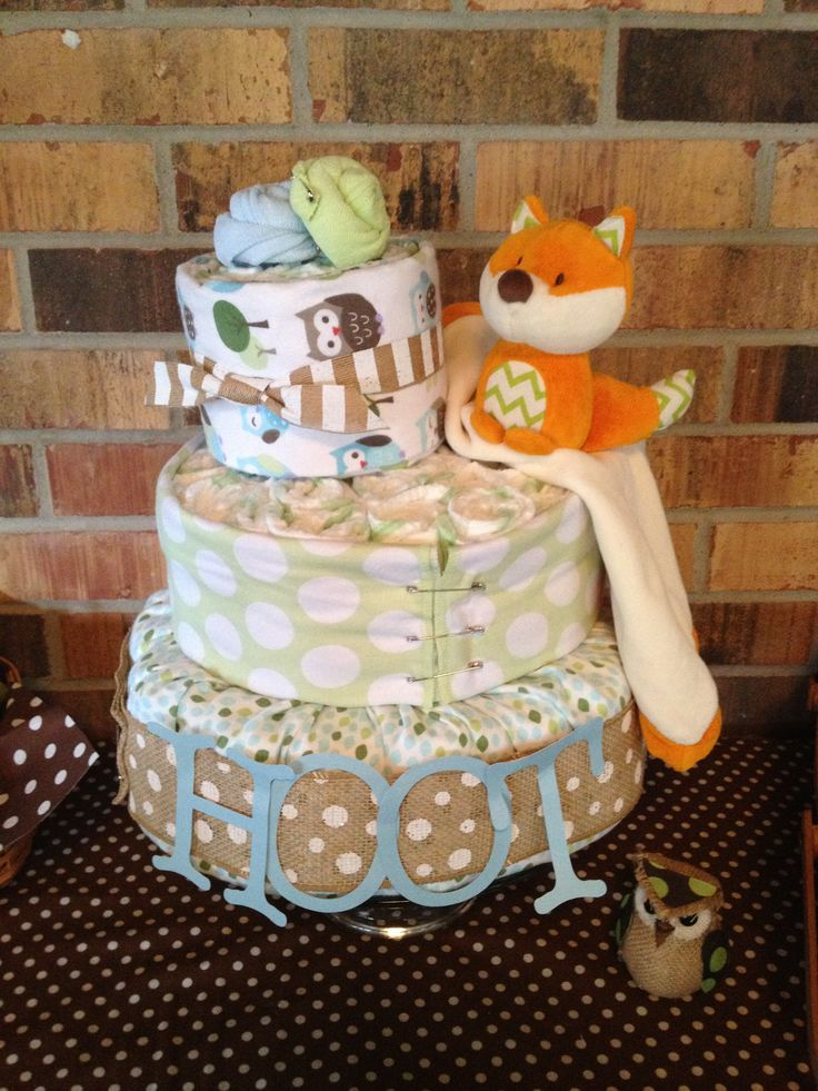 fox baby boy diaper cakes diaper baby showers chesley babyshower