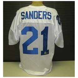 Deion Sanders Signed Jersey - White Custom. - Autographed NFL Jerseys · The  JerseyNfl JerseysDallas Cowboys ... 330788aa0