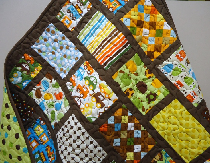 Pretty.: Baby Boy Quilts, Baby Quilts, Sewing Baby Boys Quilts, Mixed Baby, Milk Chocolates, Baby Boys Quilts Patterns, Chocolates Mixed, Chocolat Baby, Quilts Ideas