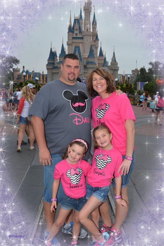 Disney World Family Matching Family Tshirts by OnceUponATeeShop