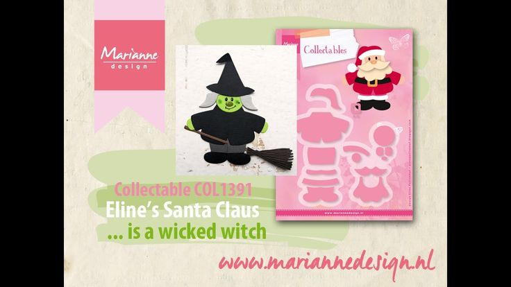 How to make a Witch of the COL1391 Santa Claus by Eline