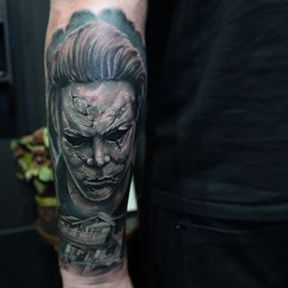 added robzombieofficial halloweenheartandarrowtattoostudio movie tattoosrob zombiehorrortattoo ideasinkhalloweentags - Halloween Movie By Rob Zombie