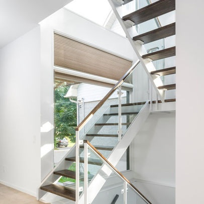 Open Tread Stairs Design Ideas, Pictures, Remodel, and Decor