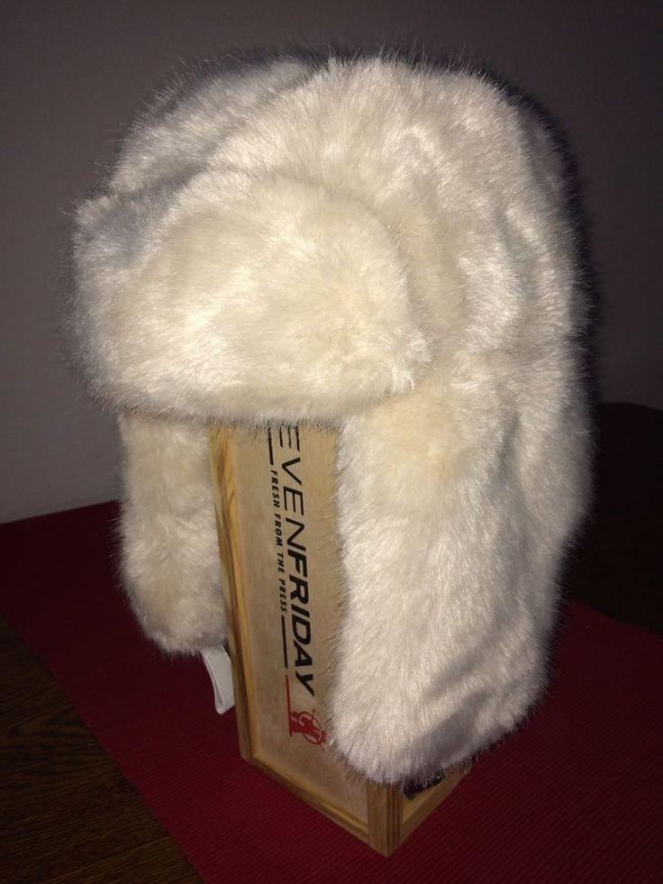 Damen Mütze Fellmütze Original BARTS in Weiß NP€119,00  | eBay