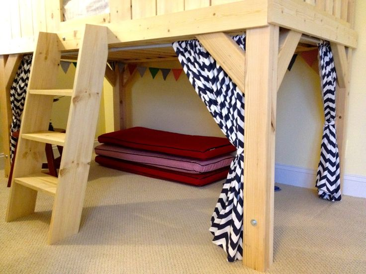 Ana White Build A Clubhouse Bed Free And Easy Diy