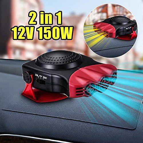 Paracity Car Heater Cooler 2en 1en céramique de voiture Chauffage de ventilateur de refroidissement Dégivreur pare-brise Système de…