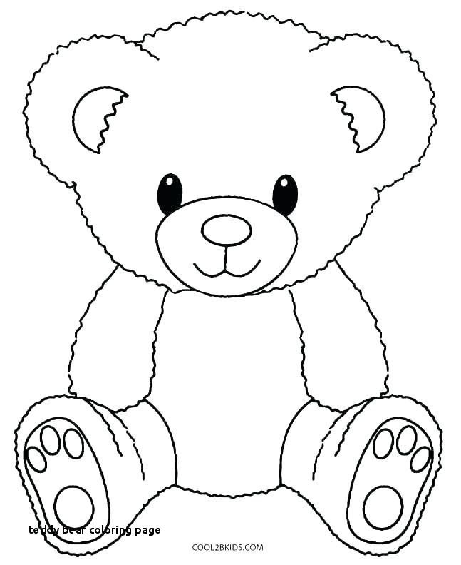 68 Beautiful Gallery Of Teddy Bear Coloring Pages Teddy Bear