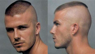 crew cut hairstyle | David Beckham Crew Cut Hairstyle | Men Hairstyles