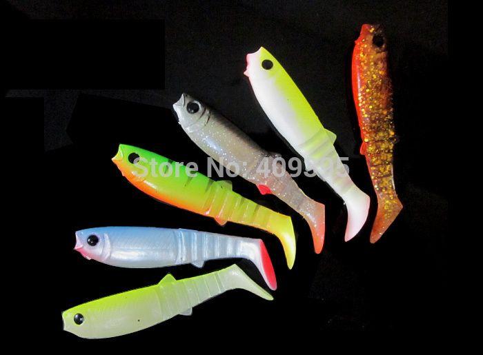 30pcs 8cm/5.5g 9cm/7g Fish type soft fishing lure 3D eyes soft lure soft bait Sea fishing lure Free shipping
