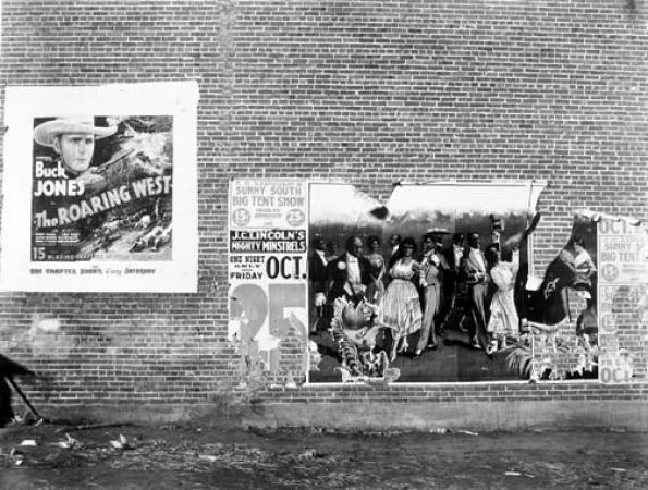 Minstrel Show, Alabama, 1936